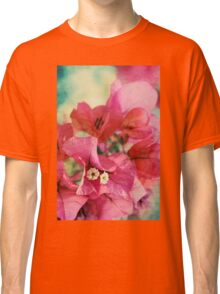 Bougainvillea at Sunset Classic T-Shirt