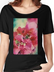Bougainvillea at Sunset Women's Relaxed Fit T-Shirt