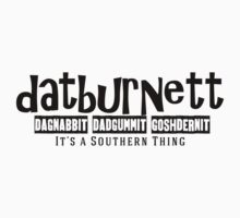 Datburnett Southern cuss words One Piece - Short Sleeve