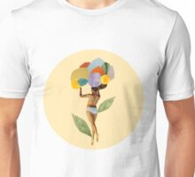 i walk out in the flowers and feel better Unisex T-Shirt