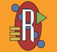 Letter R by V-Art
