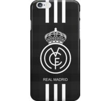 real madrid BLACK iPhone Case/Skin
