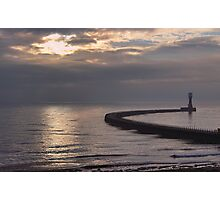 Roker Pier Sunderland Photographic Print