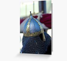 Viking Helmet-Darling Harbour Greeting Card