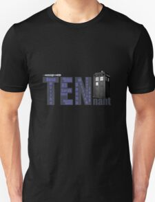 TENnant Doctor Who T-Shirt