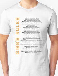 Gibbs's Rules T-Shirt