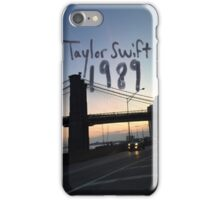 New York City Taylor swift 1989  iPhone Case/Skin