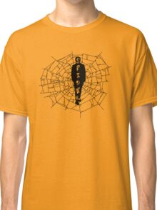 A spider at the center of a web Classic T-Shirt