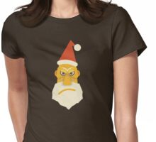 Surly Santa Womens Fitted T-Shirt