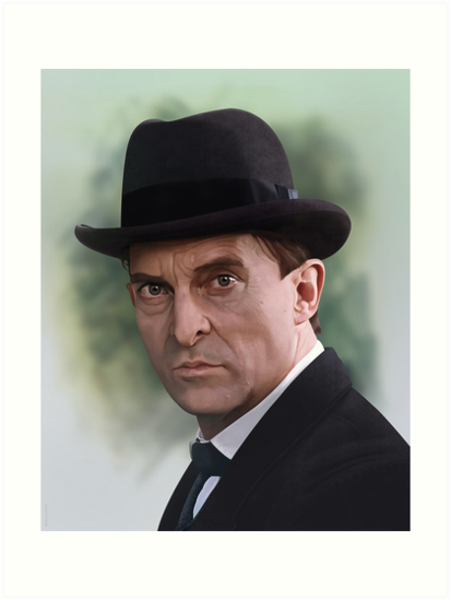 The Bohemian Holmes - Jeremy Brett by ifourdezign