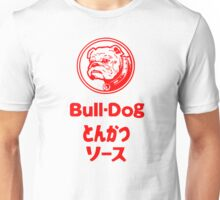 Bull-Dog Tonkatsu Sauce Fan T-Shirt Unisex T-Shirt