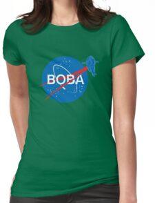 BOBA NASA Womens Fitted T-Shirt
