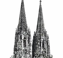 The Cologne Cathedral by theshirtshops
