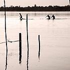 Go, Run - Mekong River - Thailand by RichardCurzon