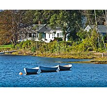 Boats in Kennebunkport Photographic Print