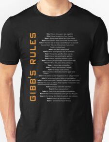 Gibbs's Rules T-Shirt