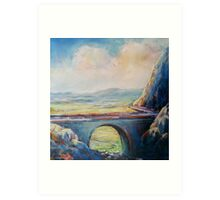 morning on the Kerry way Art Print
