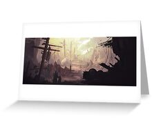Wasteland Journey- The City of Iraxes Greeting Card