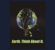 Earth. Think About It. Kids Tee