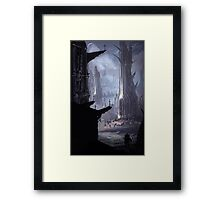 Gothic Towers Framed Print