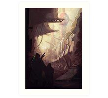 Wasteland Journey- Inside Iraxes Art Print