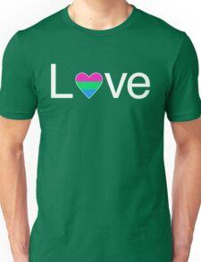 L♥ve (Poly Pride) Unisex T-Shirt