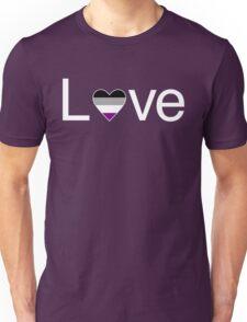 L♥ve (Ace Pride) Unisex T-Shirt