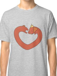 Hot Dog Princess Love Heart Classic T-Shirt