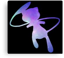 Pokemon Galaxy Mew Canvas Print