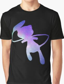 Pokemon Galaxy Mew Graphic T-Shirt
