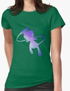 Pokemon Galaxy Mew Womens Fitted T-Shirt