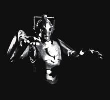 Cyberman Monochrome by Steven Miscandlon