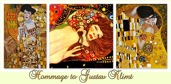 Hommage to Gustav Klimt by ©The Creative  Minds