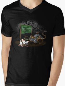 Give a Mouse a Cog Mens V-Neck T-Shirt