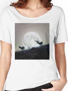 moon deer Women's Relaxed Fit T-Shirt