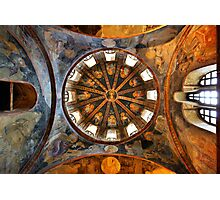 One of the domes in Chora church Photographic Print
