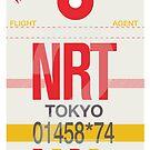 NRT Baggage Tag by axemangraphics