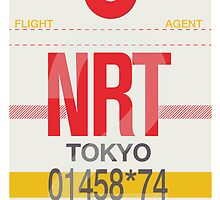 NRT Baggage Tag by axemangraphics