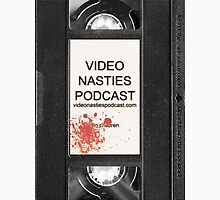 Video Nasties Podcast VHS Label Unisex T-Shirt