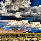Southern New Mexico Landscape by Ray Chiarello
