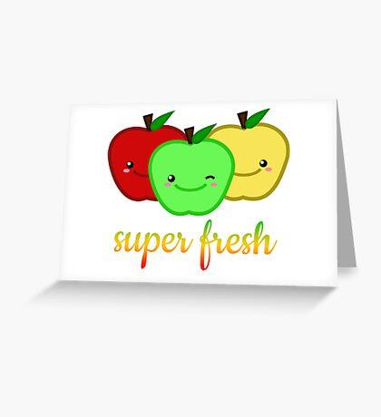 Super Fresh Greeting Card