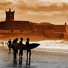 Carcavelos Surfers by ccaetano