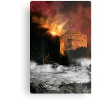 Design Future: Thessaloniki's destruction Metal Print