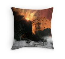 Design Future: Thessaloniki's destruction Throw Pillow