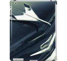 1955 Chevy BelAir in Black and White iPad Case/Skin