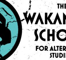 The Wakandan School For Alternative Studies Sticker
