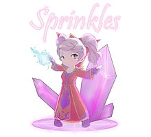 Chibi Gnome Mage - Sprinkles Photographic Print
