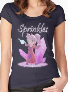 Chibi Gnome Mage - Sprinkles Women's Fitted Scoop T-Shirt