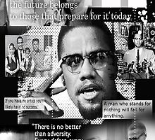 malcom x by arteology