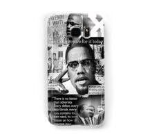 malcom x Samsung Galaxy Case/Skin
